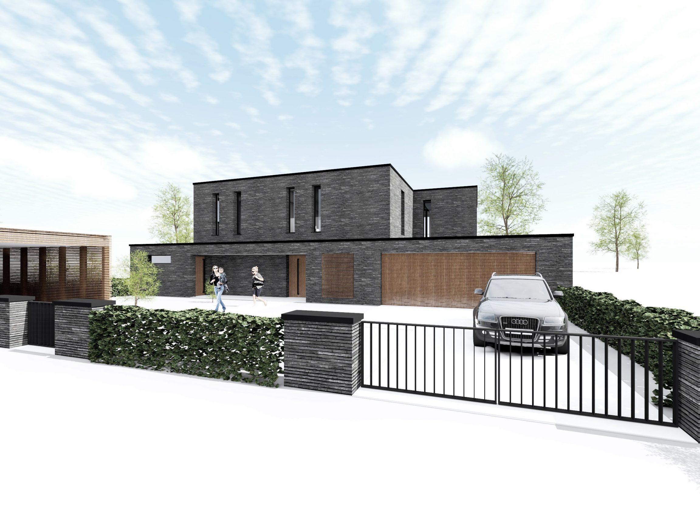 Neubau Einfamilienhaus Hamburg
