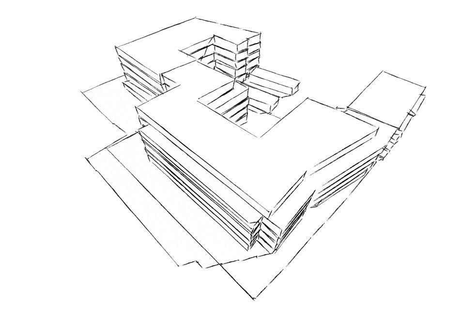 Projektstudie Kita und Wohnbebauung Eimsbüttel