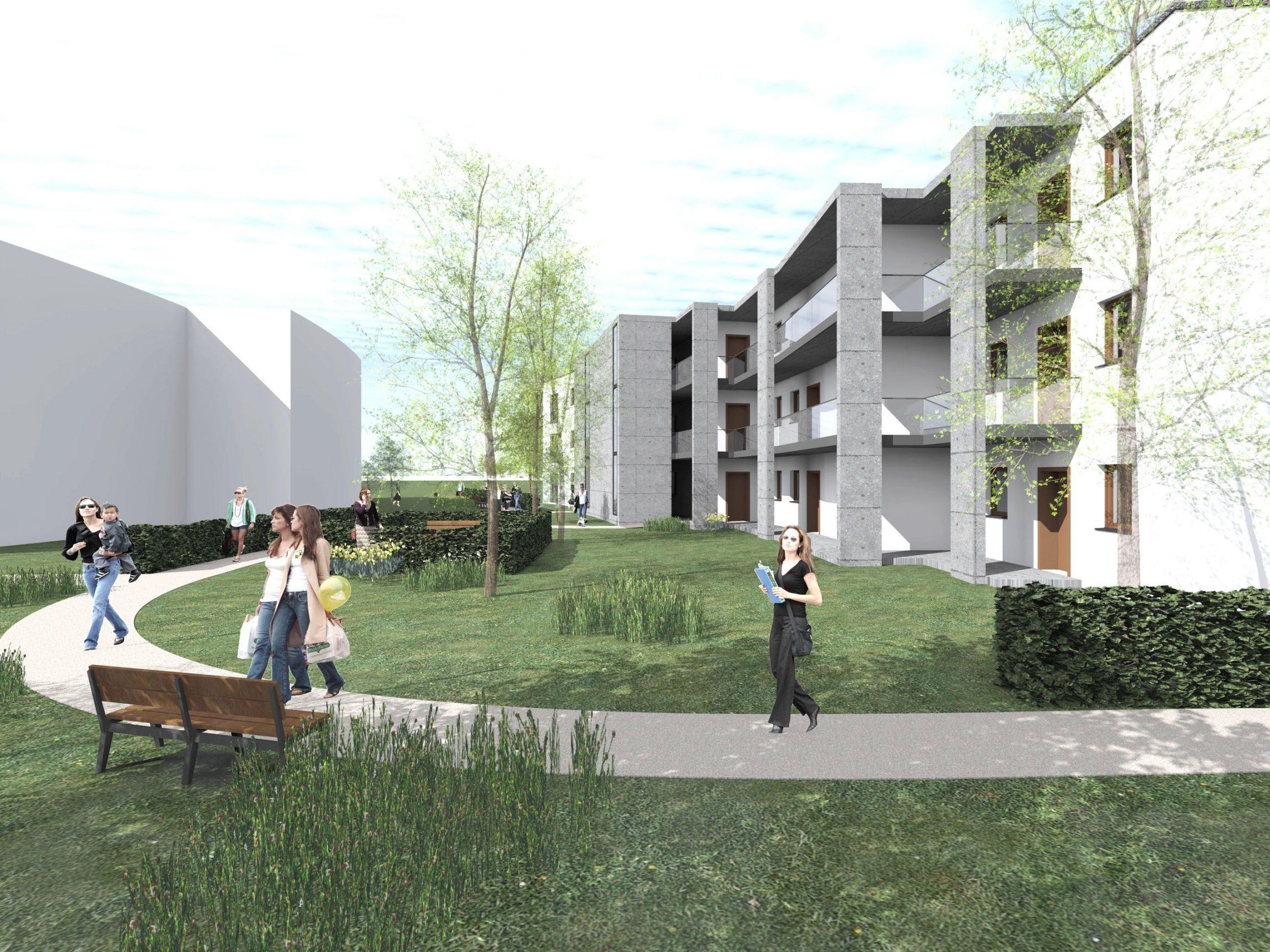 Neuplanung betreutes Wohnen Norderstedt