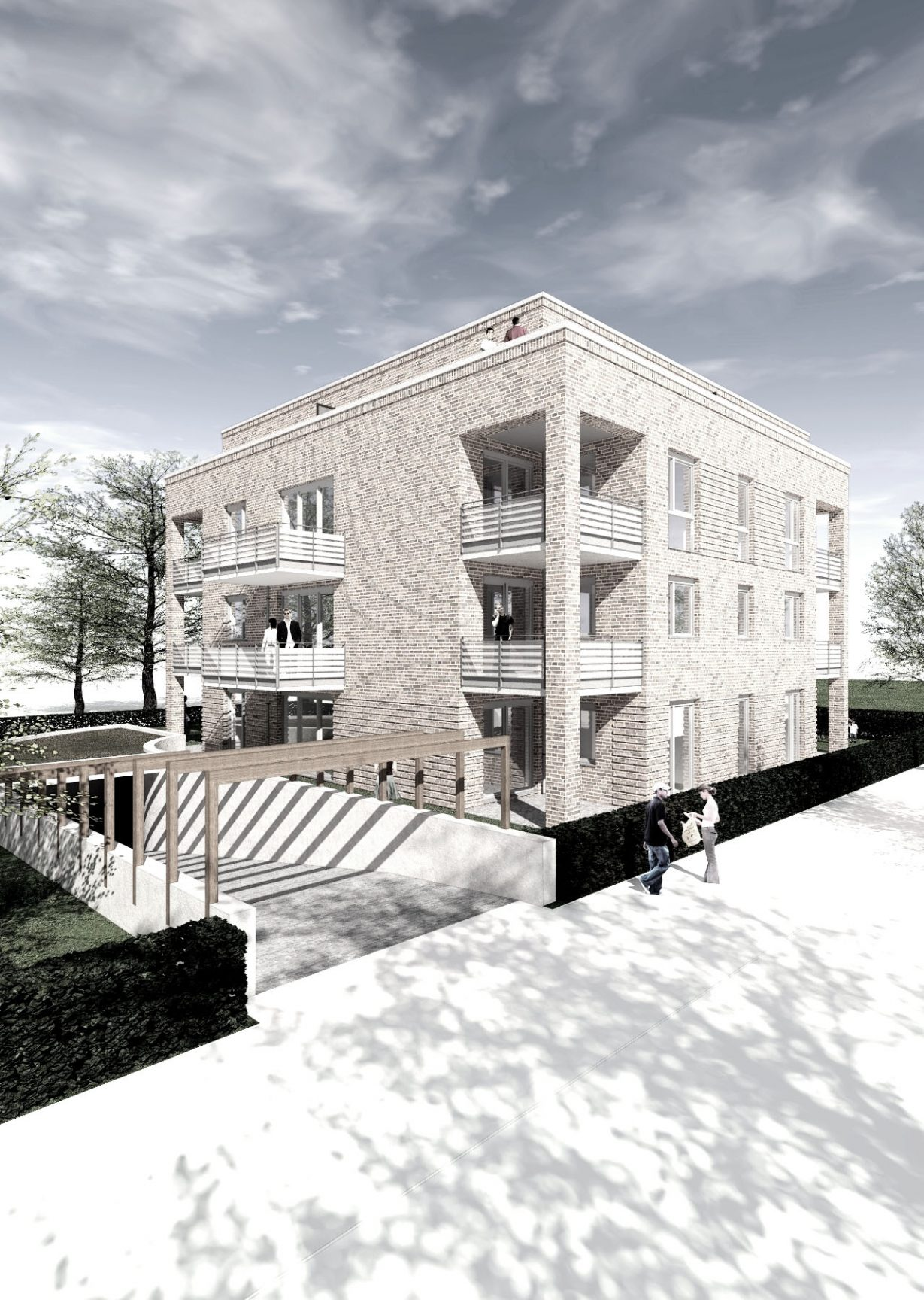 Neubau Wohngebäude Baustart erfolgt Hamburg