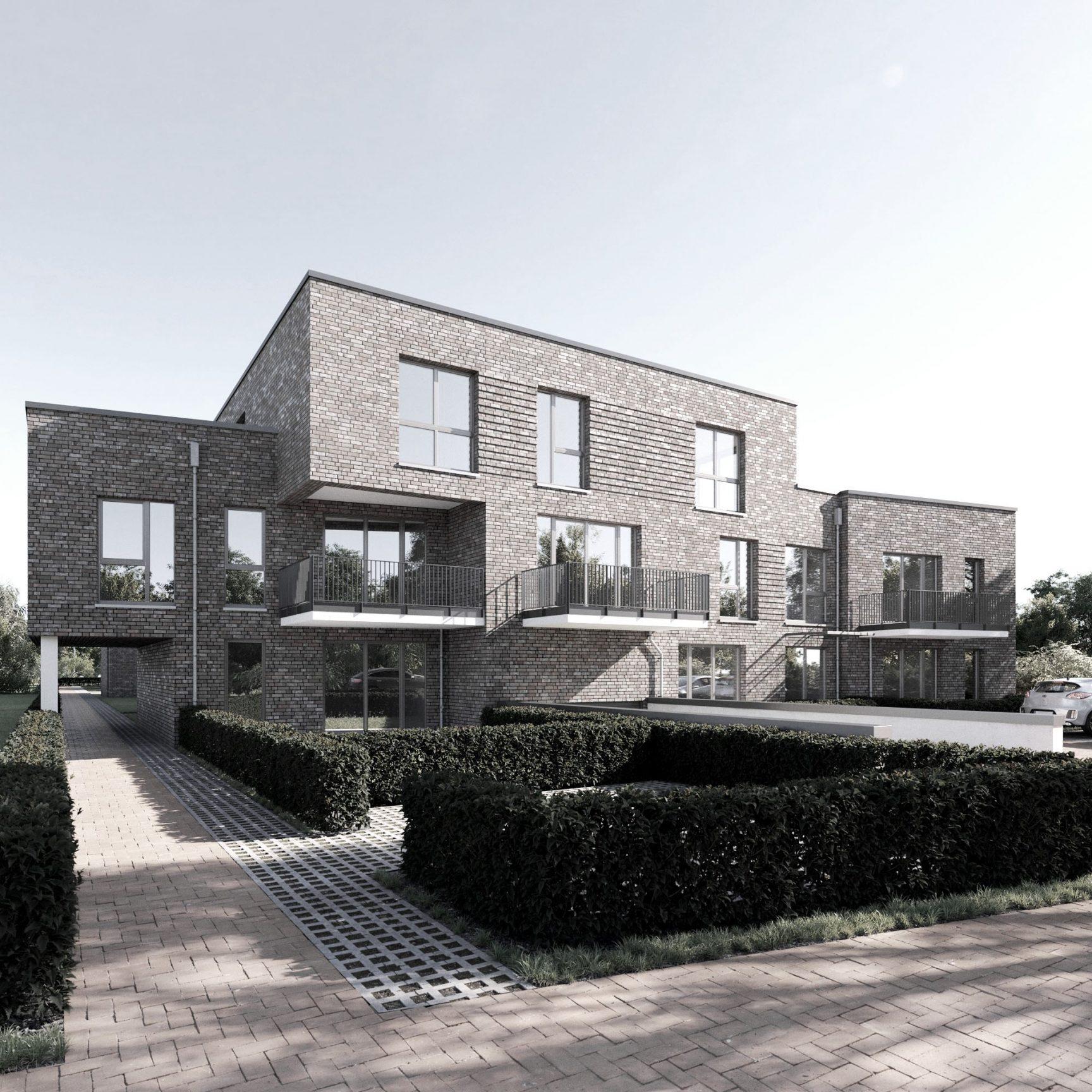 Neubau Wohngebäude Baustart erfolgt in kürze Hamburg