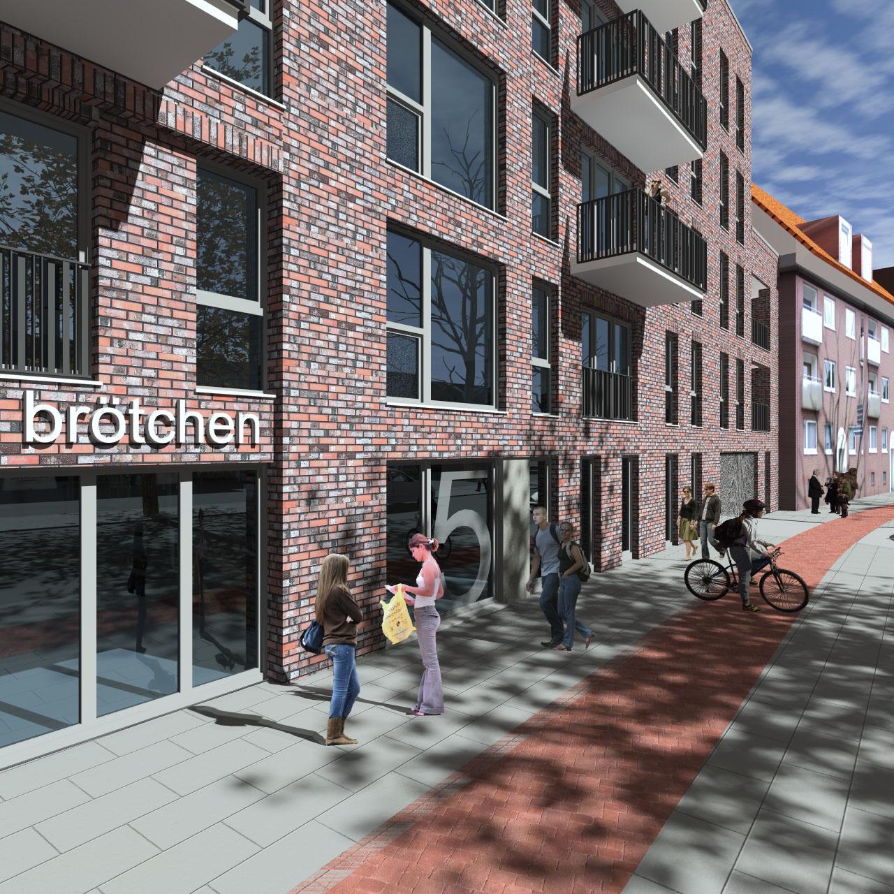 Vorbescheidsgenehmigung Wohngebäude Hamburg 01
