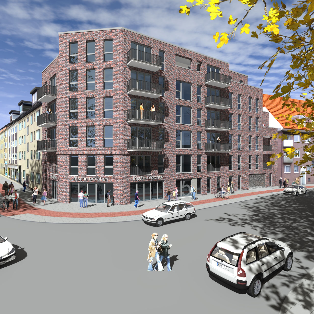 Vorbescheidsgenehmigung Wohngebäude Hamburg 02